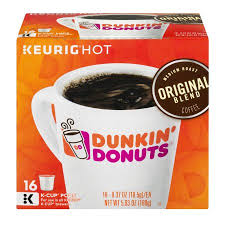 Blend K Cups Dunkin Donuts Original Blend Coffee K Cup Pods 16 Ct Walmart