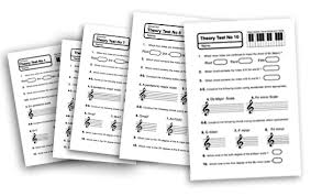 best ideas of high music theory worksheets on example
