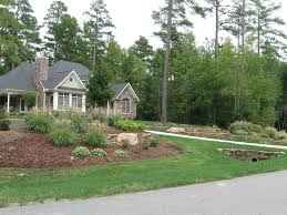 Sloping Backyard Landscaping Ideas Landscape Front Yard Landscaping On A Slope Ideas Design Ideas