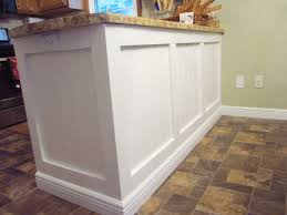 kitchen island panels adding character to a kitchen island peninsula home staging in