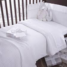Crib Bedding Bale Izziwotnot White Premium Gift 5 Coverlet Bedding Bale Baby