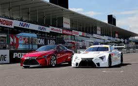lexus racing wallpaper picture lexus 2017 lc 500 super gt two cars 2560x1600
