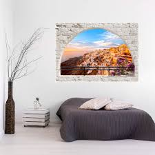 3d wall illusion wallpaper mural photo print a window view optical 3d wall illusion wallpaper mural photo print a
