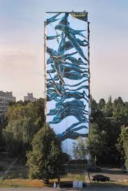 Geoffroy Mottart Flowing Swarms Of Animals And Other Beasts Painted On Urban Walls