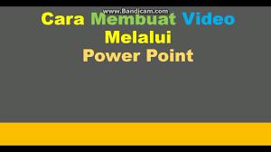 cara membuat infografis dengan powerpoint cara membuat video melalui power point youtube