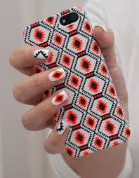 moa case aztec neon ld 04 nail art pinterest aztec neon and