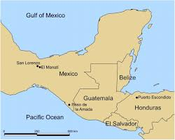 Mexico On Map Cacao Use And The San Lorenzo Olmec