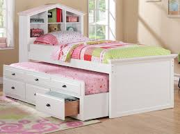 Princess Bookcase Kids Bed Bedroom Queen Sets Kids Twin Beds Cool For