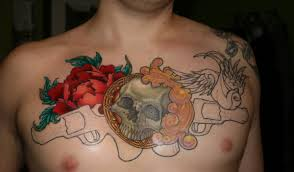 15 awesome chest tattoos allnewhairstyles com