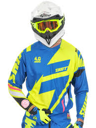 shift motocross helmets shift blue 2015 faction mainline mx jersey shift
