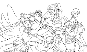 resultado de imagen para colorear sailor moon colorear sailor