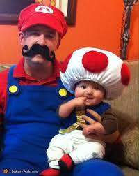 mario luigi and toad family halloween costume photo 3 3