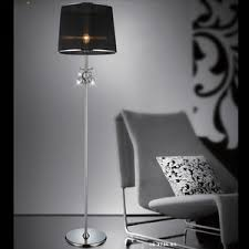 modern shiny crystal shade floor lamps target
