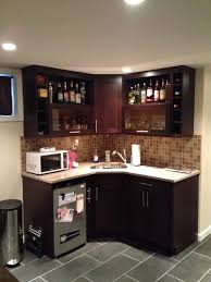 this kitchenette is great for a small apartment or for an office