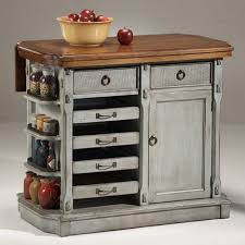 kitchen kitchen island cart with natural wood top kitchen cart