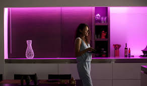 philips hue light strip behind tv hue white and color ambiance lightstrip plus eu uk base 7190155ph