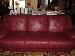 Burgundy Leather Sofa Photo Gallery