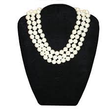 brand new pearl necklace images Barbara bush pearl necklace JPG