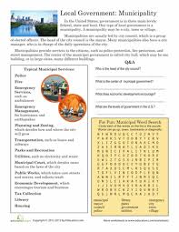 local government worksheets social studies and plays
