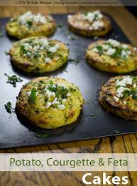 cuisine courgette potato courgette feta cakes with mint greedy gourmet food
