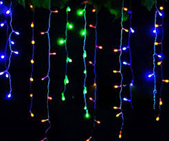great led lights m multicolor led icicle lights to admirable