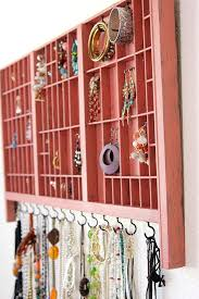 necklace organizer display images 36 ways to stay organized with diy jewelry holders jpg