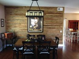 accent wall ideas for kitchen diy wood pallet wall ideas and paneling