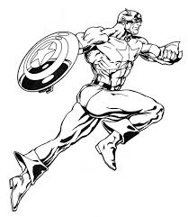marvel heroes coloring pages u2013 barriee