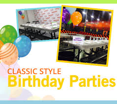party places for kids kids birthday party places air troline park air