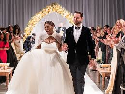 www wedding serena williams wedding photos are tmz