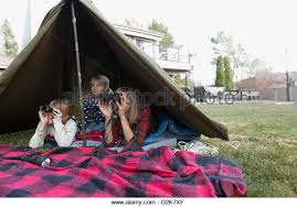 Tent In Backyard by Living Tent Stock Photos U0026 Living Tent Stock Images Alamy