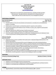 Best Nursing Resume Examples by Pacu Nurse U003ca Href U003d