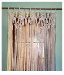 77 best cortines de macrame images on pinterest macrame curtain