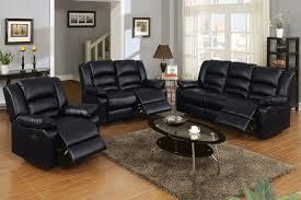 Reclining Leather Sofa Sets by Black Leather Reclining Sofa Set Tehranmix Decoration