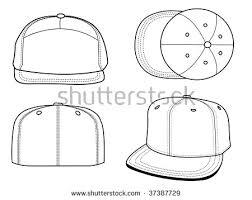 baseball hat template stock images royalty free images u0026 vectors