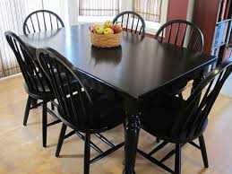 Painting Dining Room Table Painting Kitchen Table And Chairs Black Luxury Painting The Dining