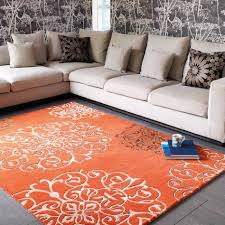 Tapis Beige Salon by Tapis De Salon Baroque Orange Avec Arabesques Par Joseph Lebon