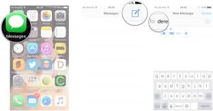 How To Make A Backyard Movie Screen by How To Send Imessages On Iphone Or Ipad Imore