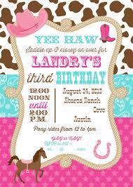 nice unique ideas for cowgirl birthday invitations templates check