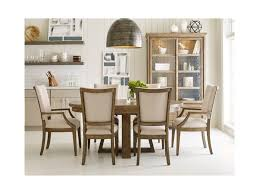 kincaid dining room set kincaid furniture plank road button solid wood dining table with