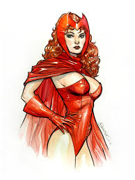 scarlet witch original costume the brandon peterson gallery