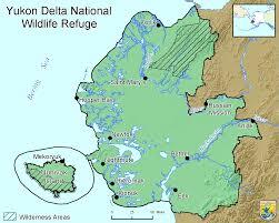 Yukon River Map File Map Of The Yukon Delta National Wildlife Refuge Png