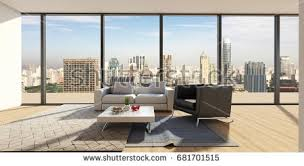 show home interior design modern luxury interior design living room stock illustration