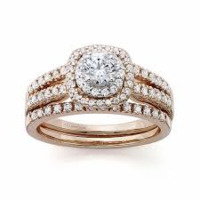 Rose Gold Wedding Ring Sets by 43 Rose Gold Engagement Rings For The Romantic Bride To Be Brides