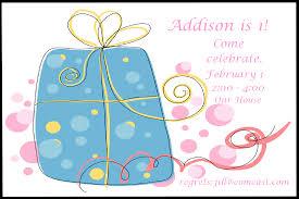 Sample Of Birthday Invitation Card For Kids Birthday Invitation Ideas U2013 Gangcraft Net
