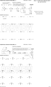 Division Worksheets Grade 4 Long Division Worksheets With Answers Worksheets Reviewrevitol