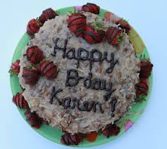 german chocolate cake with strawberries vietnamese soul food