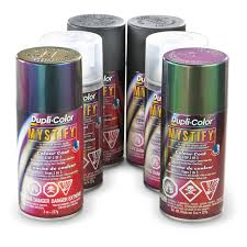 duplicolor mystify color changing paint kit silver green