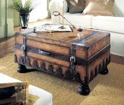 Vintage Trunk Coffee Table Trunk Style Coffee Table Set S Vintage Trunk Coffee Table