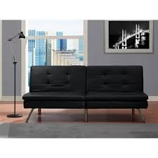 Futon Target Dhp Chelsea Black Futon 2009009 The Home Depot